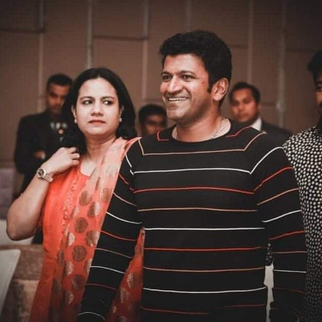 #PuneethRajkumar & #AshwiniPuneethRajkumar 😍❤🙂  #PowerStar #PRK #Appu #AppuBoss #AppuSir #AshwiniMadam