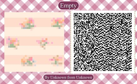 Floral Wallpaper Qr Codes Animal Crossing Wallpapershit