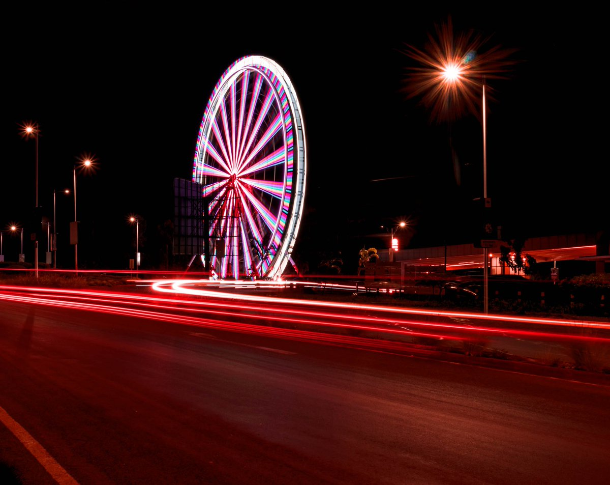 Africa's Tallest Ferris Wheel @TwoRivers_KE #nightphotography #kenyaphotography #magicalkenya IG:i_gat_shots