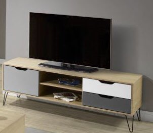 Large TV Unit from the Bergen Range €113  Wide TV Unit in White, Grey and Oak Effect  Matching items availablepic.twitter.com/eF2EW1KiuF