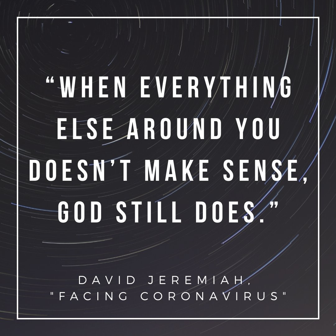 "Watch David Jeremiah's full message, ""Facing Coronavirus"" here: ow.ly/RN5M50yRCuM"