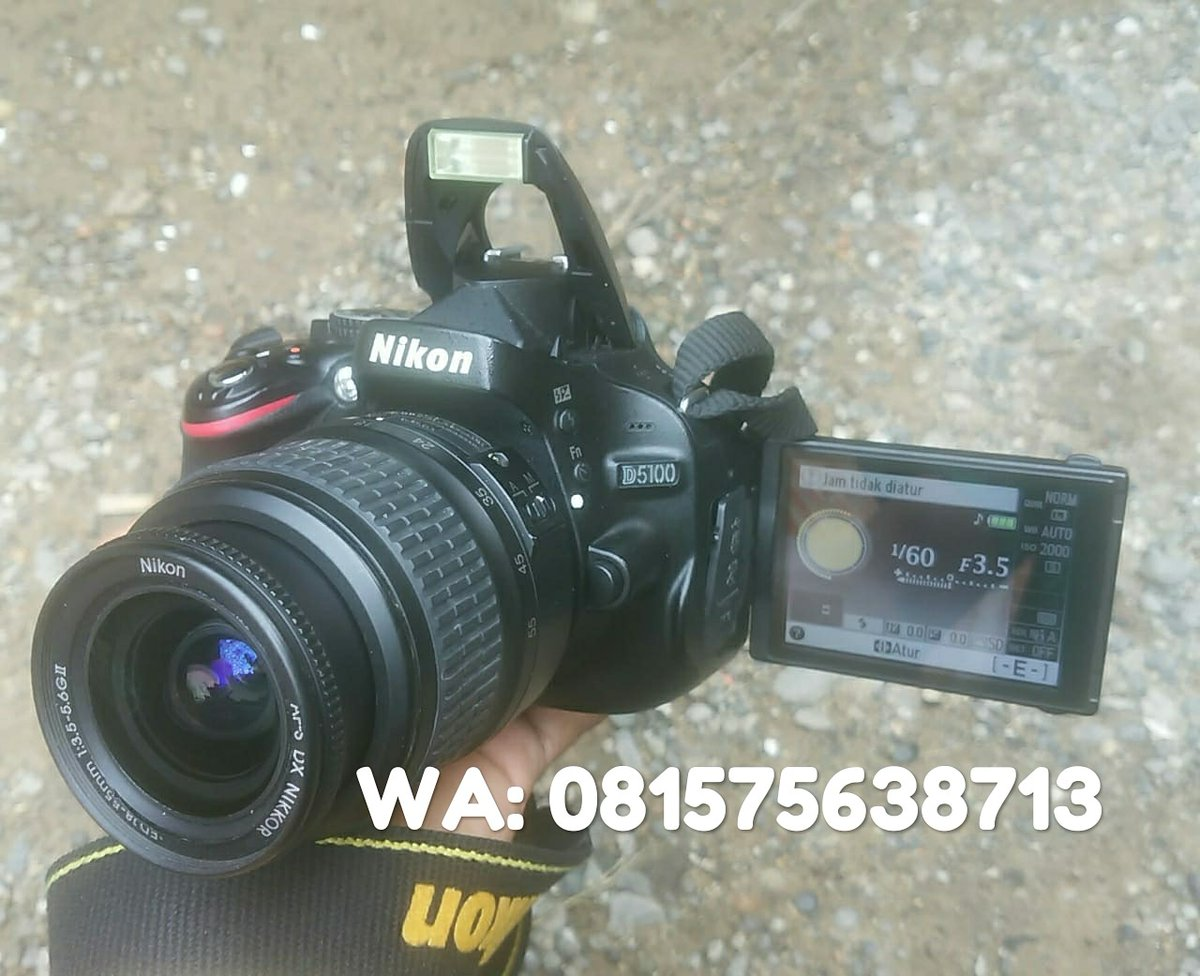 For sale Nikon D5100  Minat: http://wa.me/6281575638713  #nikon #d5100 #photography #indonesia #nikonindonesia #iamnikon #photooftheday #nikond5100 #amazing_longexpo #canon #d5100nikon #travelphotography #photoshoot #lights #photo #photographer #nikonphotography #jualkamerablorapic.twitter.com/LiMkA9EDpn