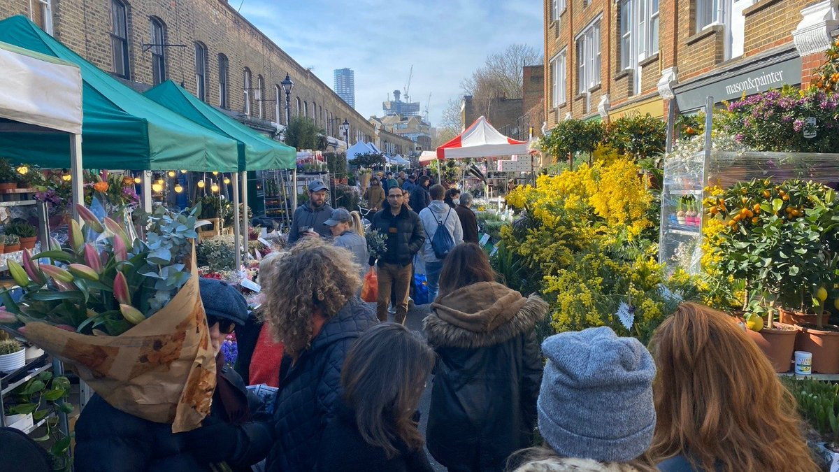 Dino Sofos On Twitter Stop This Now Columbia Road Flower Market East London Photo Taken Just Now By My Colleague Jj Bryant Who Was Not There As A Punter Https T Co S8xuvnocry