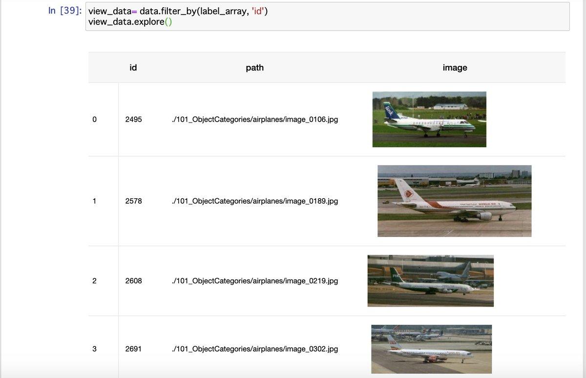 ⚖️機械学習⚖️お勉強中📝✈️飛行機画像🛫を検索して類似する画像を抽出してみたよぉ☺️#Python3 #Jupyter #TuriCreate