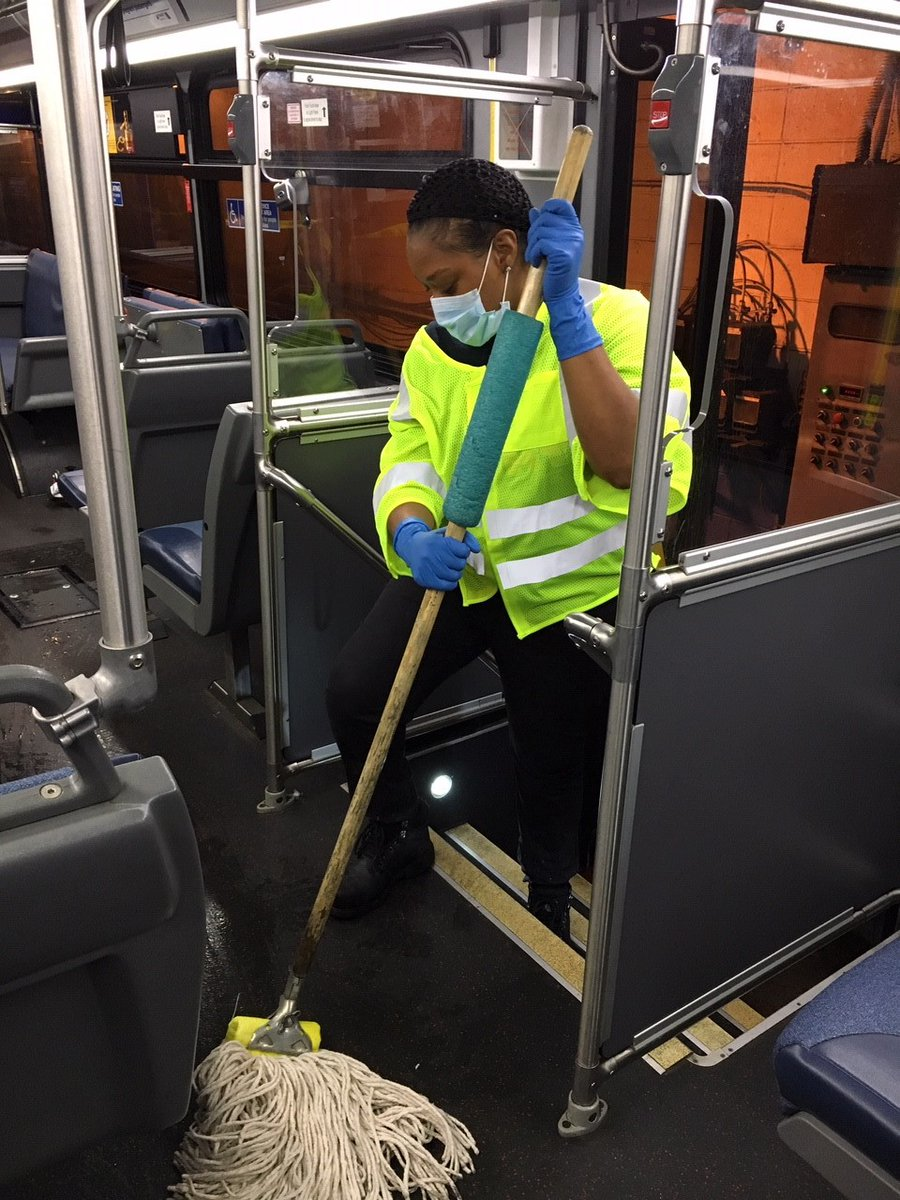 Nj Transit On Twitter In Response To Covid19 Njtransit Has Enhanced Its Cleaning Efforts To Include Disinfecting Vehicles Major Stations Every 24 Hours The Intensified Cleaning Regimen In Stations Includes Additional