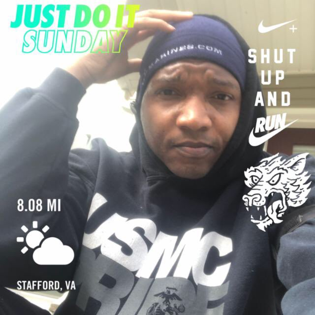 Ran 8.08 miles with Nike⁠ Run Club #JustDoIt God's Grace. Social distance has drawn me closer to God. Month of the Mayfield. Be above average http://www.mokacia.com  #nikeplus #nikerunning #blessed #socialdistancing #marinemamba #usmcbeast #usmc #marines #blackmenrun pic.twitter.com/pHSf8el7pS
