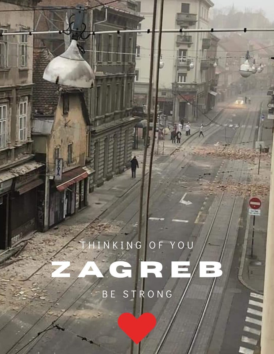 U S Embassy Zagreb On Twitter This Morning Zagreb Experienced A 5 4 Earthquake Our Thoughts And Prayers Are With The People Stay Strong Stay Safe And Secure We Will Get Through This