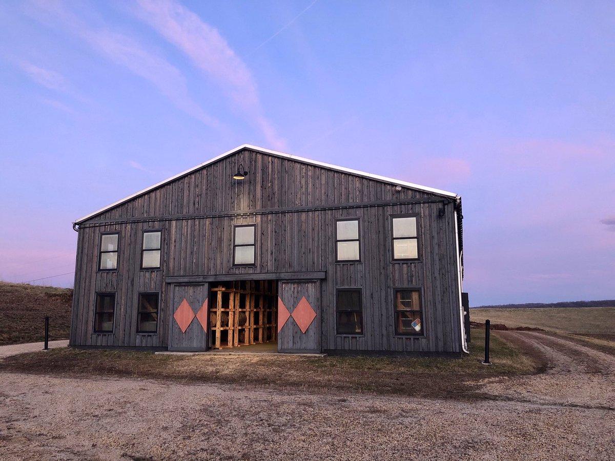Our barrels, still hard at work in the aging barn 🥃 https://t.co/BHSlLxQTkZ