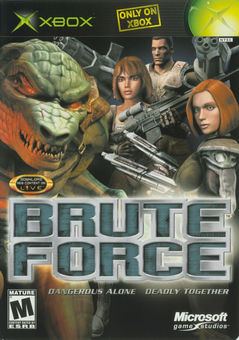 Brute Force released on Xbox 17 years ago; have you played it?  #OriginalXbox #WednesdayThoughts <br>http://pic.twitter.com/WChX51OJWt