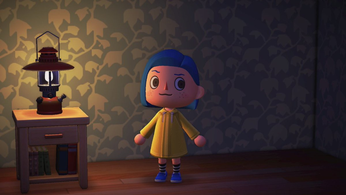Nicole Acnh Fashion On Twitter A Quick Coraline Inspired Outfit Acnh Animalcrossing Laika