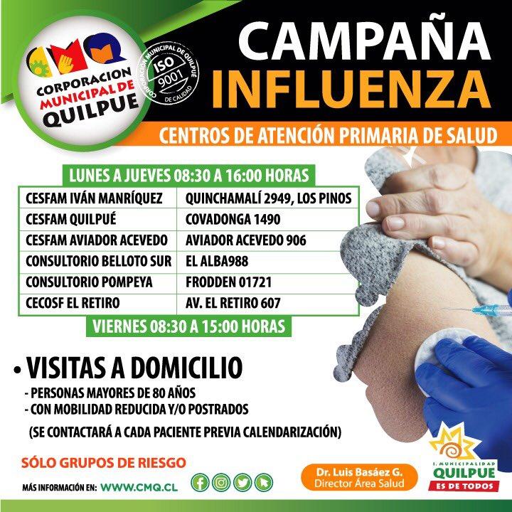 Campaña Influenza Quilpue
