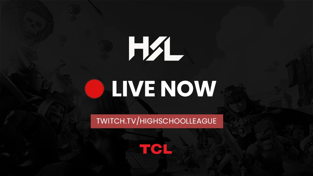 HSL #ClashRoyale Split 1 2020 Week 4 is on NOW!   Casted remotely for safety, but still live!  CRC Melton  MAGS MAGS  Flinders CCC Rangitoto College  Burnside HS  @TheRealArkadian + @blendy  LIVE NOW http://twitch.tv/highschoolleague…pic.twitter.com/sLWtFXaeZv