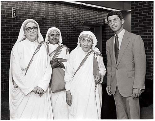 Dr. Anthony Fauci and Mother Teresa: