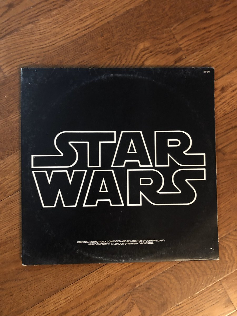 Another classic for #RecordaDay. #starwarspic.twitter.com/s5Flkosh2y
