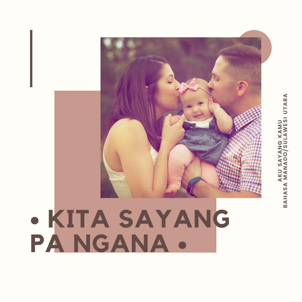 """""""Aku sayang kamu"""" dalam bahasa daerah Sulawesi Utara/Manado:  Kita sayang pa ngana  #LestarikanBahasaDaerah #LestarikanBahasadanSastraDaerah #BahasaDaerah #SahabatBahasa #BahasaMakassar #BahasaManado #Bahasawan #SulawesiUtara #SulawesiSelatan #BahasaSulawesipic.twitter.com/ktEtXWM2BA"""