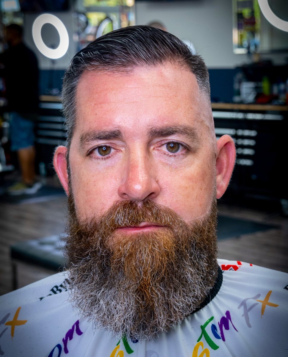 Forget before & after, how about Side-to-Side!! From one side to the next, just showing how you can change your clients life one cut at a time #GinoTheBarber #BaByliss4Barbers #BaBylissPRO #Barberology #BaBylissPRO_Barberologypic.twitter.com/CpNM6FOeKy – at The Barbershop Tampa