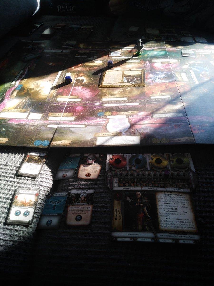 #RelicTajemnicaSektoraAntian - to taki Talizman w świecie Warhammera 40 000. W świecie mrocznym i pełnym niebezpieczeństw, w którym religia miesza się z technologią i magią, gdzie spaczenie to norma, a herezją jest na każdym kroku. Lubię ten świat #boardgame #graplanszowa pic.twitter.com/GiQl3617TQ