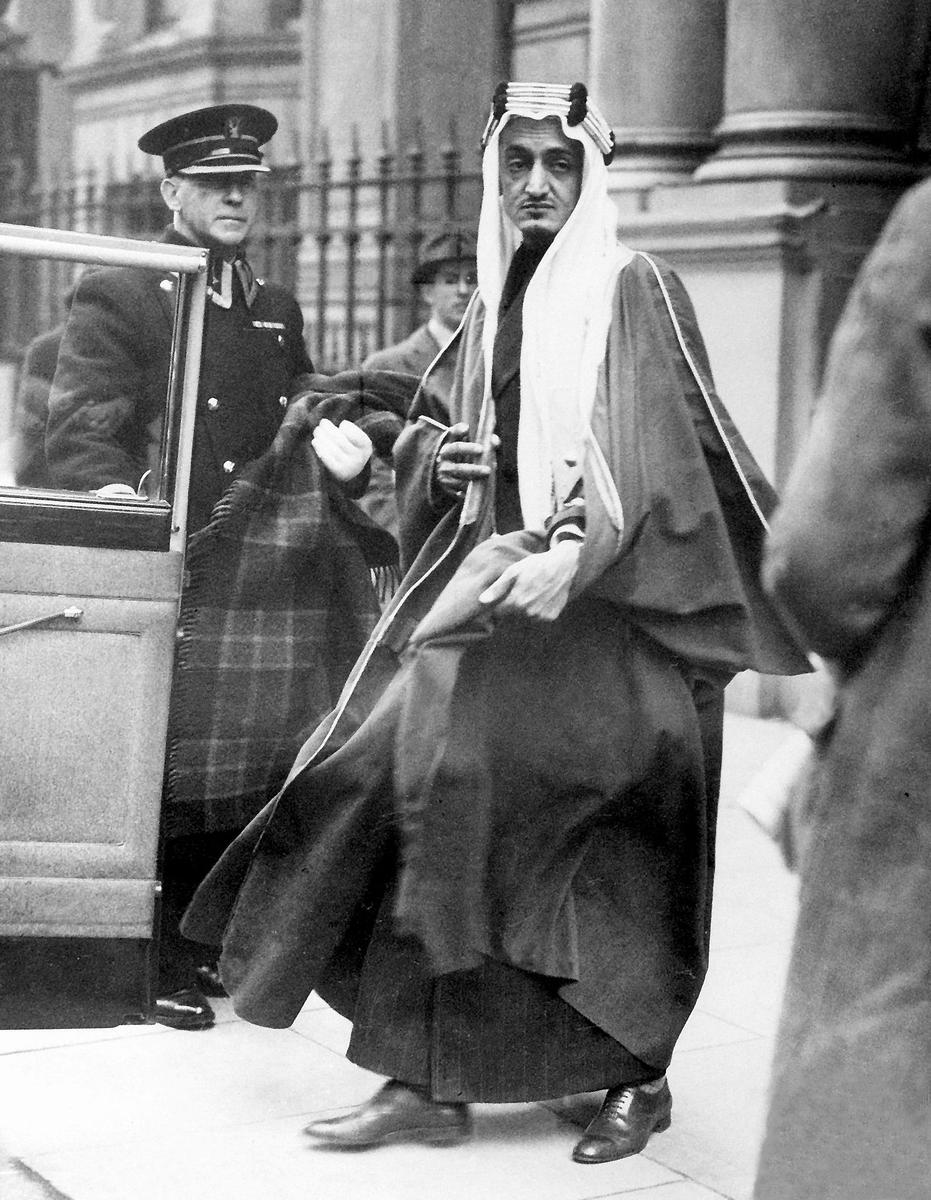 King Faisal in London February, 1939 Credit: ullstein bild Dtl.