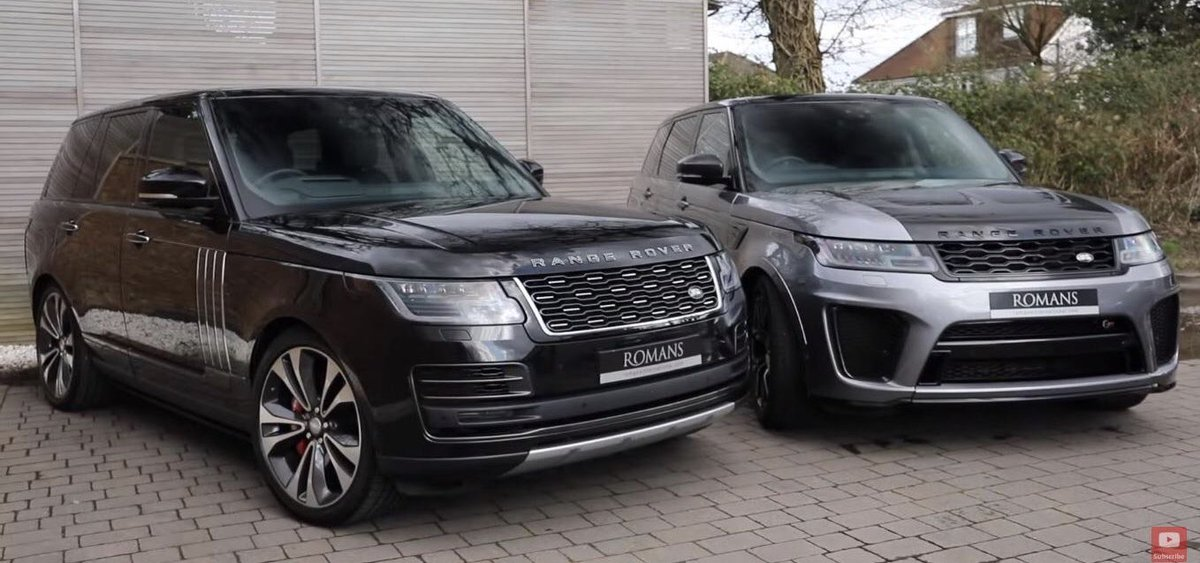 SVR vs SVAutobiography- which Range Rover should you buy?  Find out now in our latest video. 👉 https://t.co/cQXLGmAjvY https://t.co/oi0LmkjE5r