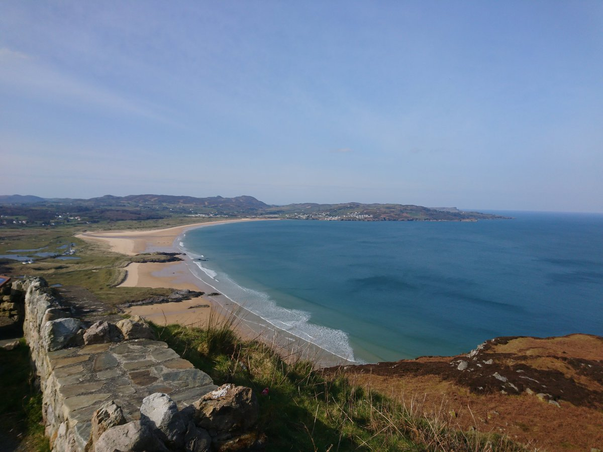 Truly blessed to have this on our doorstep to escape the cabin fever for a bit.. #Donegal #Paradise