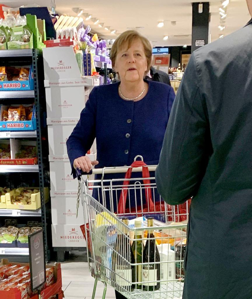 Merkel in Quarantäne