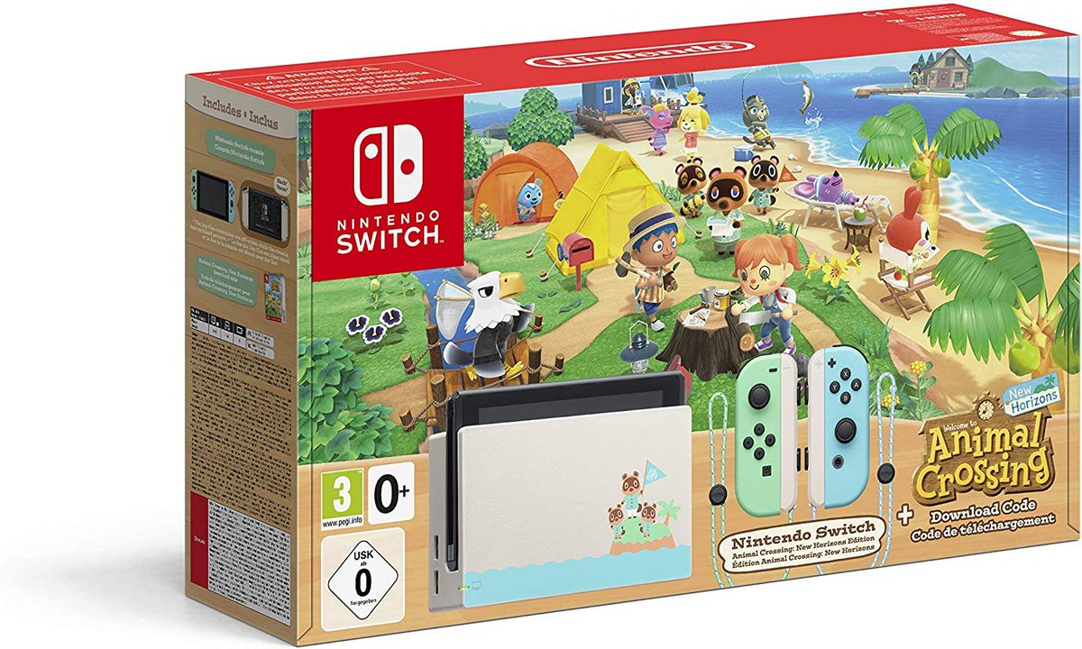 C'est le confinement vous vous ennuyez. Je sais que certains veulent le jeu Animal Crossing.. Pour gagner ce pack il suffit de:  RT le tweet Follow @TeufeurSoff  Tag 2 amis  TAS: 29 mars https://t.co/le6Q6SXHFM