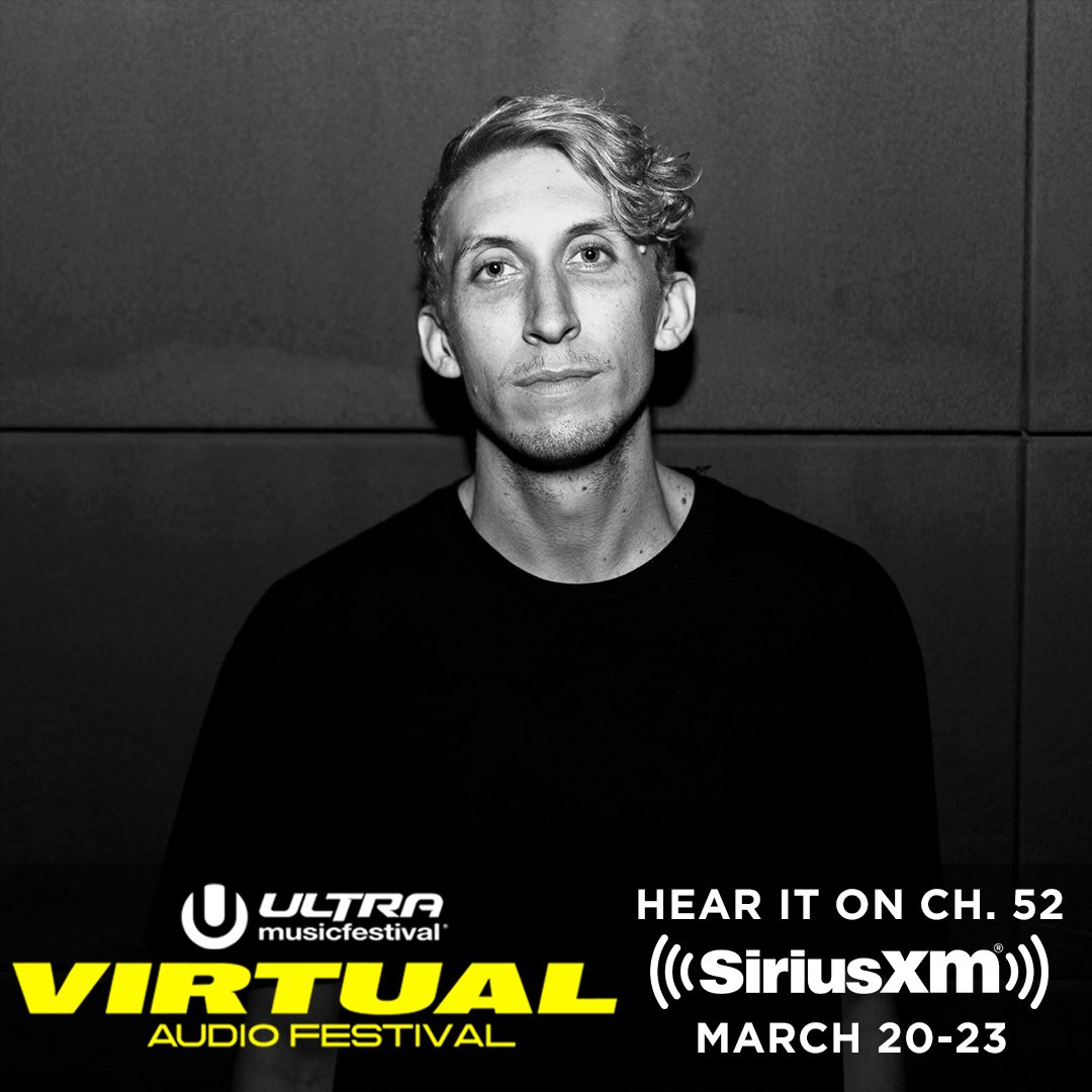 We virtually raging tonight on @SIRIUSXM @sxmElectro ☢️😤 Stoked for this @ultra audio fest!
