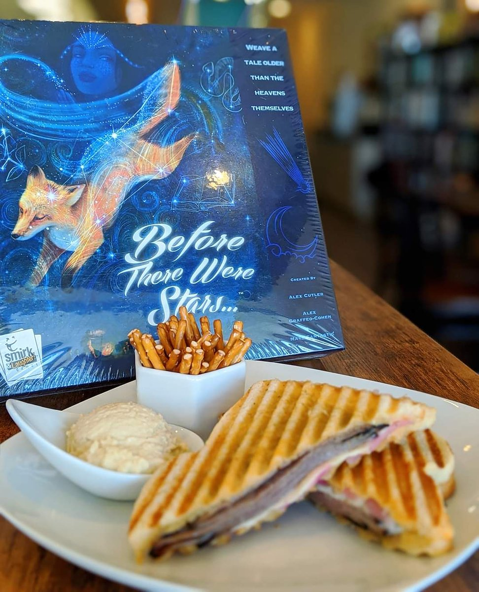 Today's #SundayShoutout is Meeple's Brew for their epic menu item... the Beef-ore there were Stars sandwich! #beforetherewerestars #meeplesbrew #cary #carync #rtp #morrisville #morrisvillenc #boardgamebar #boardgamecafe #boardgamecafes #rdu #raleigh #enjoycary #townofcarypic.twitter.com/xDA23BMvIL