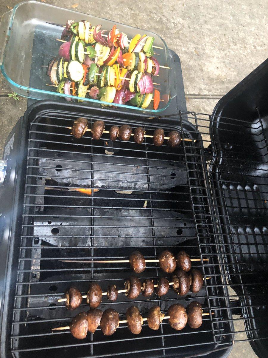 @BrentHarrington That's for the vegan in the family, steaks are goin on next