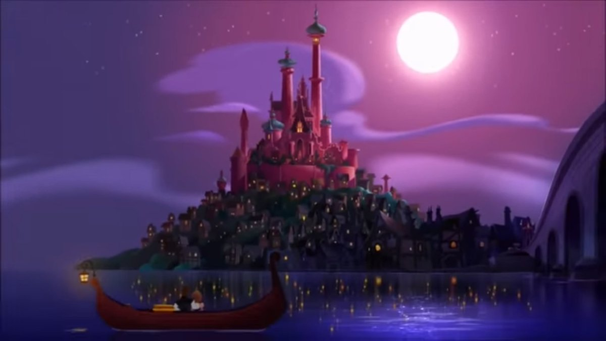 Rapunzel S Tangled Adventure On Twitter Thank You Could You Share The Background Scene You Last Painted For Tangled The Series I Am Curious Which One It Was
