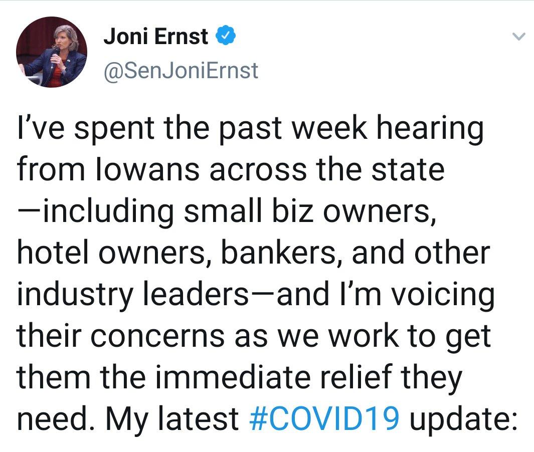 Quick reminder as to who @joniernst considers to be people... #senatedemocrats twitter.com/SenJoniErnst/s…