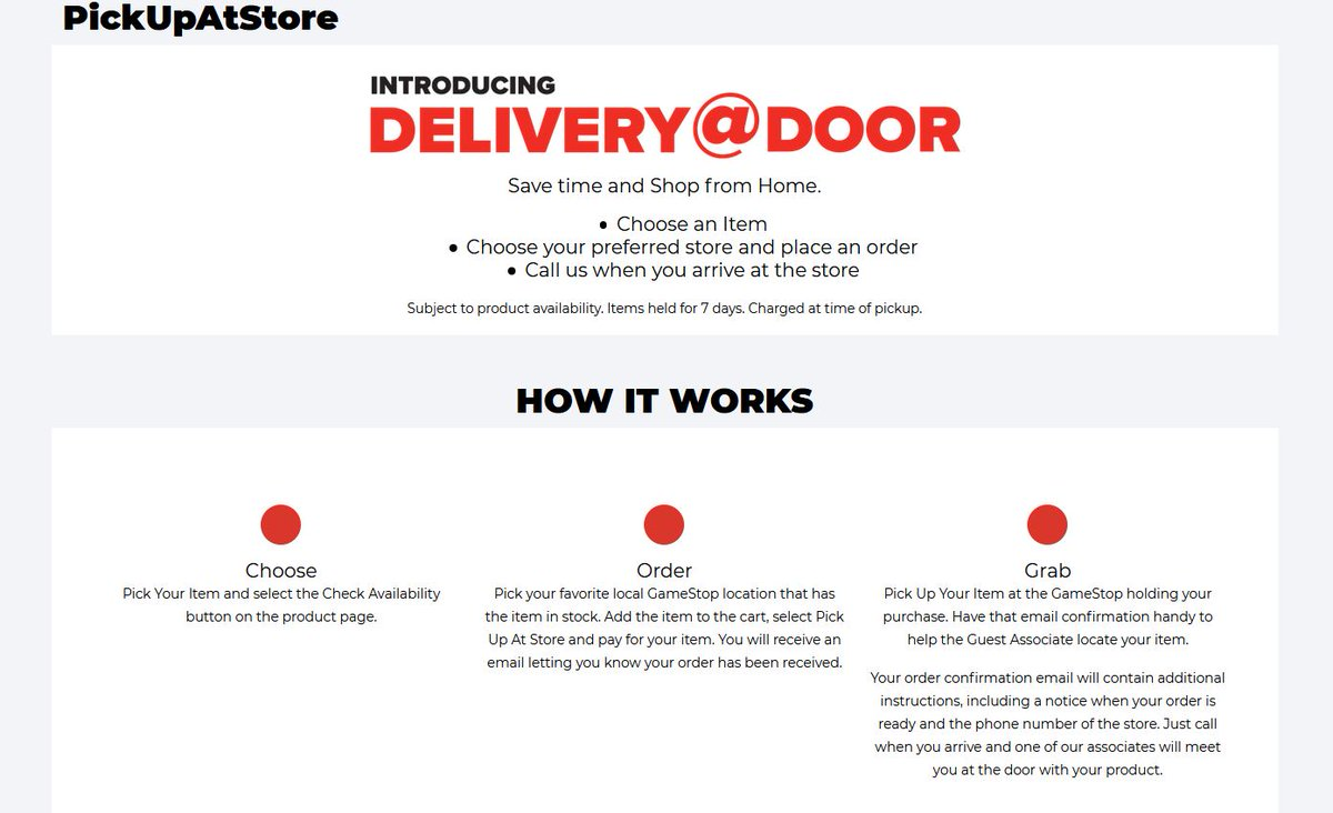 Cheap Ass Gamer On Twitter News Gamestop Delivery Door Service Https T Co 3owzq9n4lu