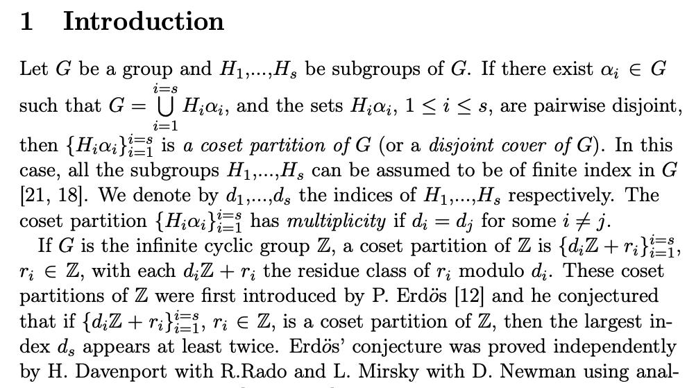 Pure群論な未解決問題(Herzog-Schönheim conjecture)がオートマトンの問題に(不完全に)帰着されてる.ふむ.An approach to the Herzog-Schönheim conjecture using automata