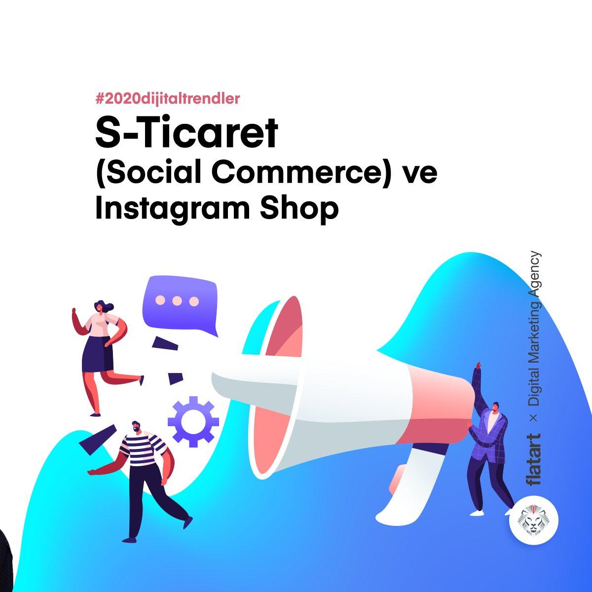 Social commerce, sosyal medya ile e-ticaretin birleşmesi anlamına geliyor.Bu özellik, ülkemize önce büyük markaların daha sonra da kademeli olarak diğer markaların kullanımına sunuldu. Kısa bir süre içinde başvuran büyük-küçük her marka; bu özelliği kullanabilmeye başlayacak. https://t.co/ogqDWp8gxg