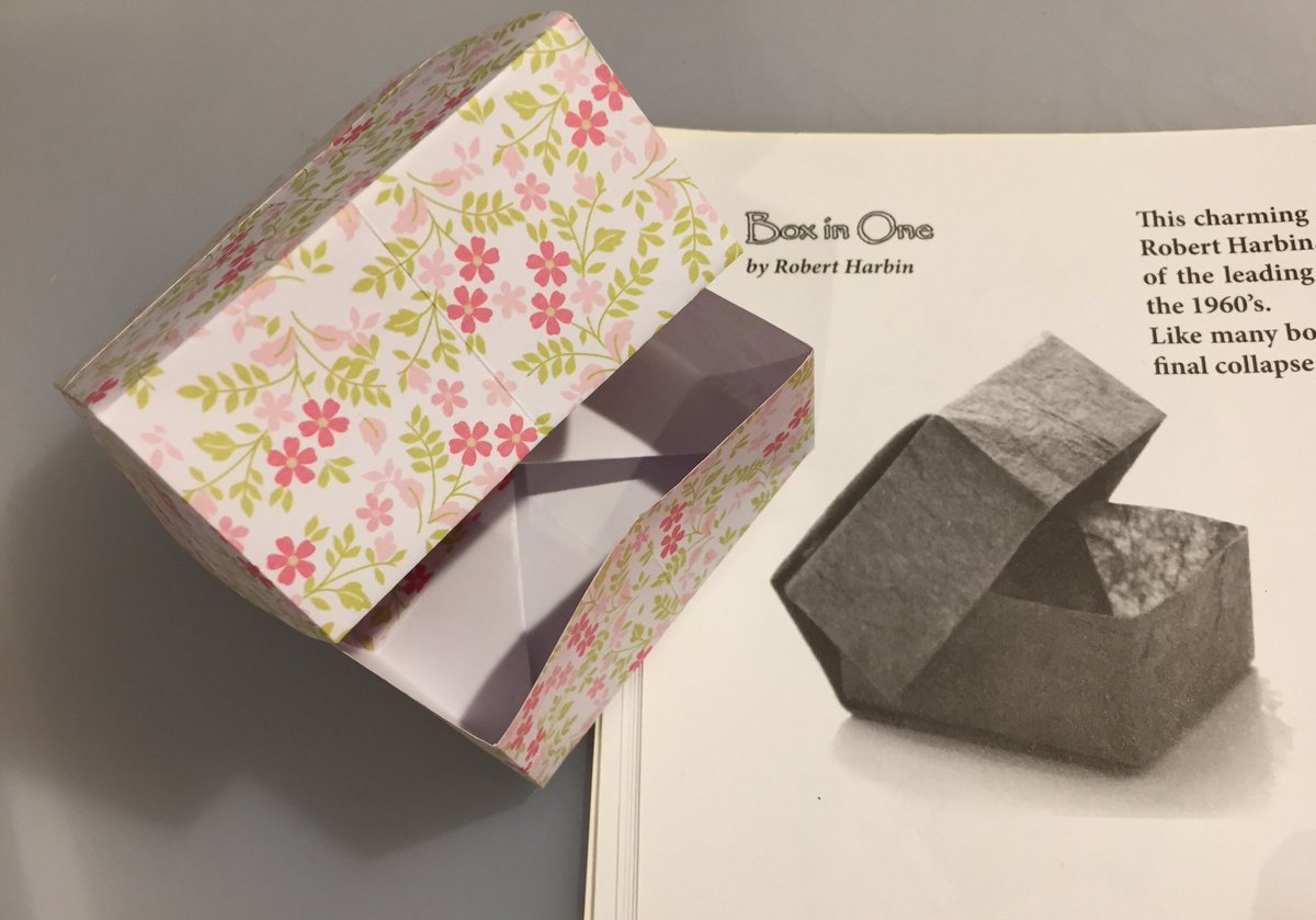 Origami Box with Cover Folding Instructions - How to Fold an ... | 839x1200