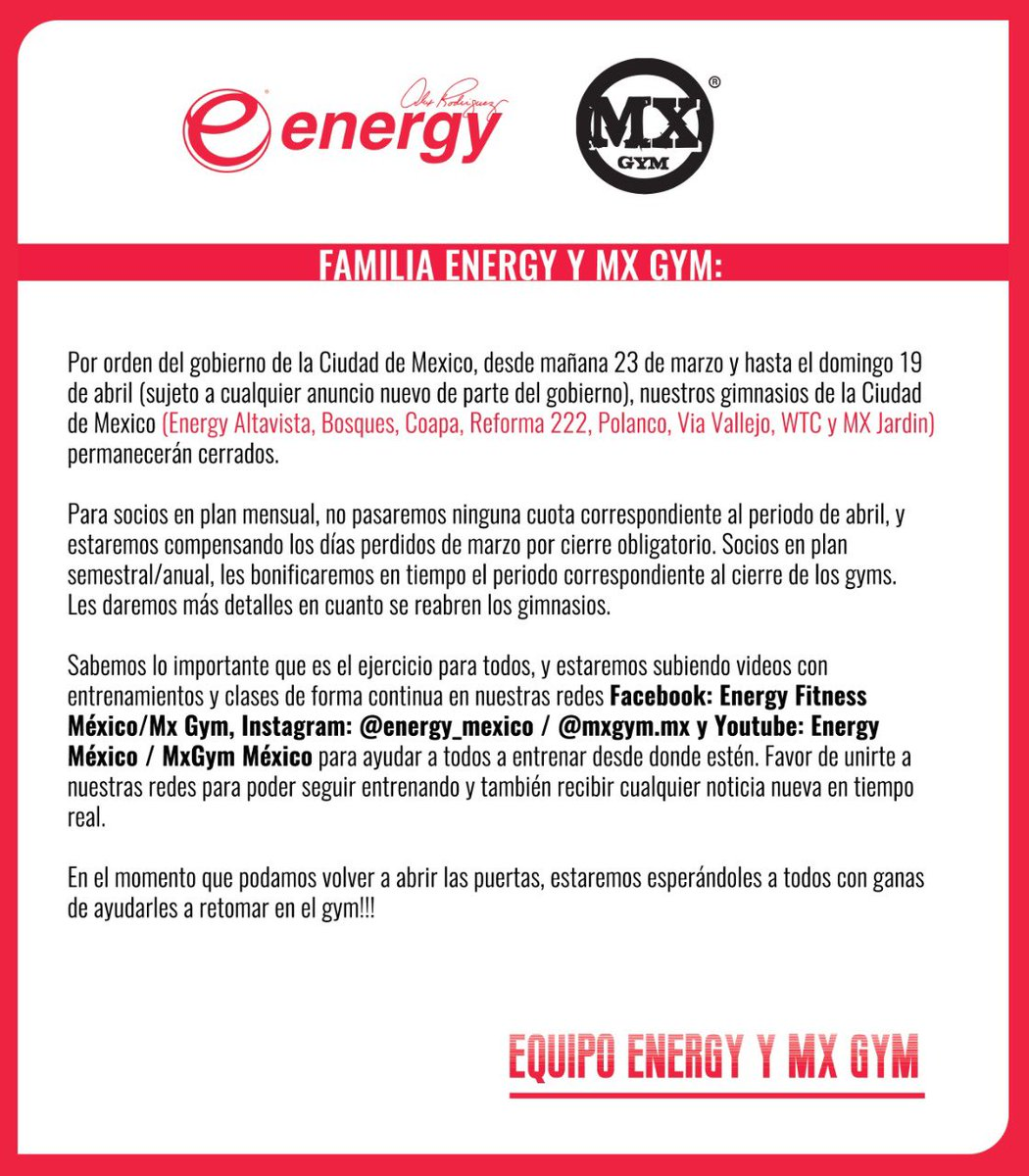 Familia Energy 💪 https://t.co/XWHAowNelU