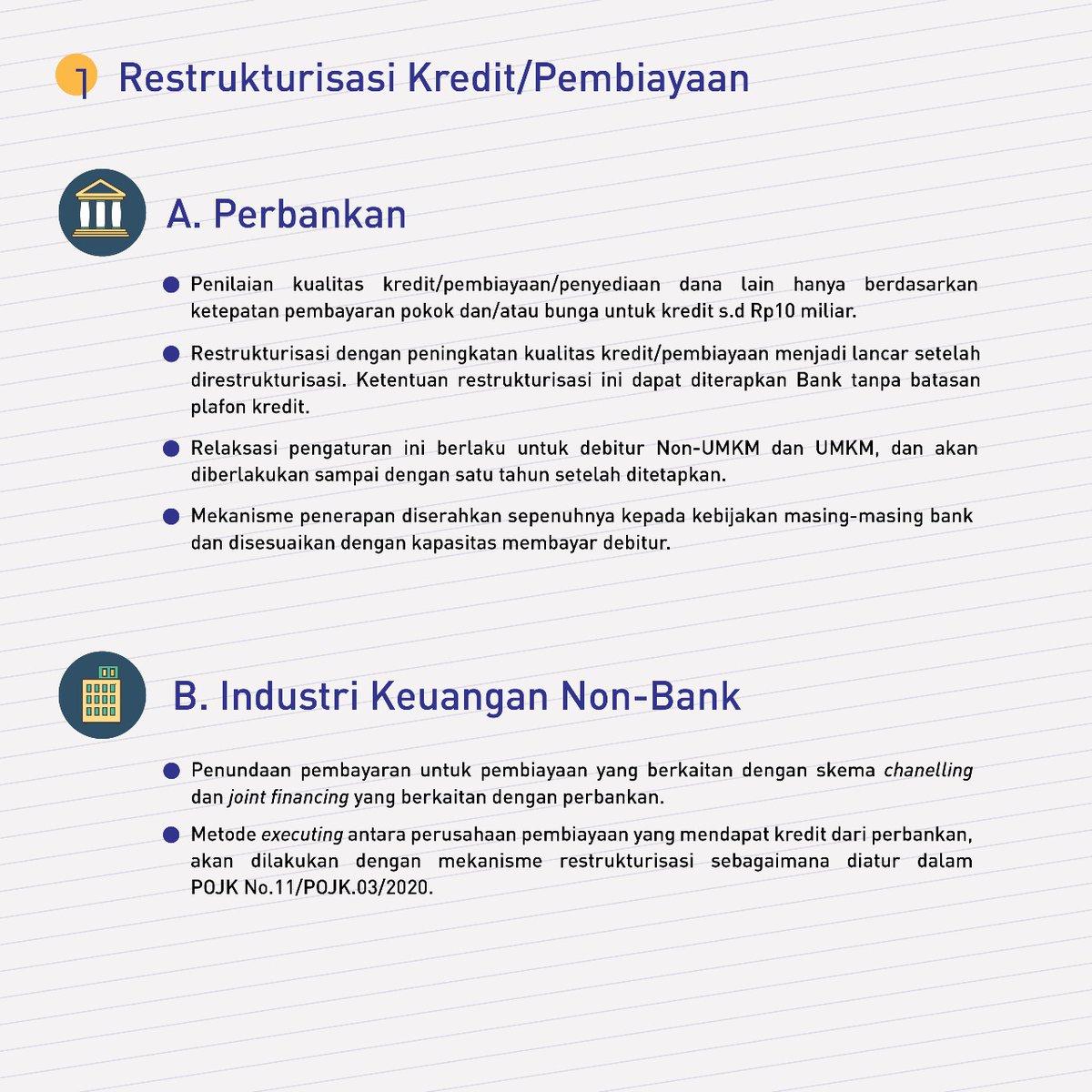 Ojk Indonesia On Twitter Sobat Ojk Sampai Dengan 20 Maret 2020 Berbagai Kebijakan Stimulus Telah Ojk Keluarkan Untuk Mengurangi Dampak Covid 19 Pada Sektor Jasa Keuangan Dan Masyarakat Info Selengkapnya Dapat Disimak Pada