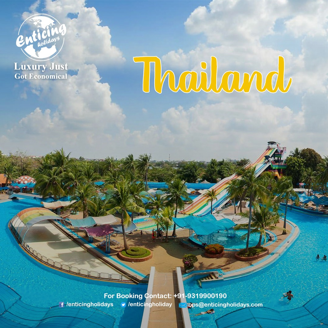 Enjoy in 𝐰𝐚𝐭𝐞𝐫 𝐩𝐚𝐫𝐤 𝐨𝐟 𝐓𝐡𝐚𝐢𝐥𝐚𝐧𝐝 in this summer with your family. Contact Enticing Holidays for Best and affordable Thailand Tour Packages.  call us - 𝟗𝟏-𝟗𝟑𝟏𝟗𝟗𝟎𝟎𝟏𝟗𝟎 _ #Thailandbeach #Thailandholidays #Thailandpackages #Thailandtour #ThailandTrippic.twitter.com/wC0vc5CiXD