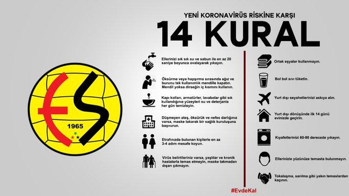 Eskişehirspor'dan camiaya mesaj var!