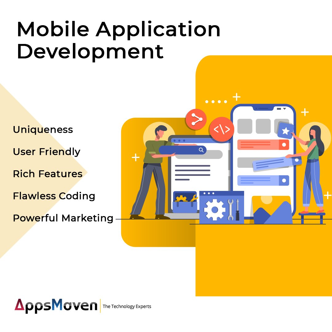 Our #mobileapps are smart & they constantly evolve with the changes in the environments they operate.  Visit us: https://bit.ly/2vIEHgr #MobileAppDevelopment #ITCompany #ITServices #iOS #Android #iosappdevelopment #AndroidAppDevelopment #CodingSkills #WearePro  #AppsMavenpic.twitter.com/a3ZJPtKIET