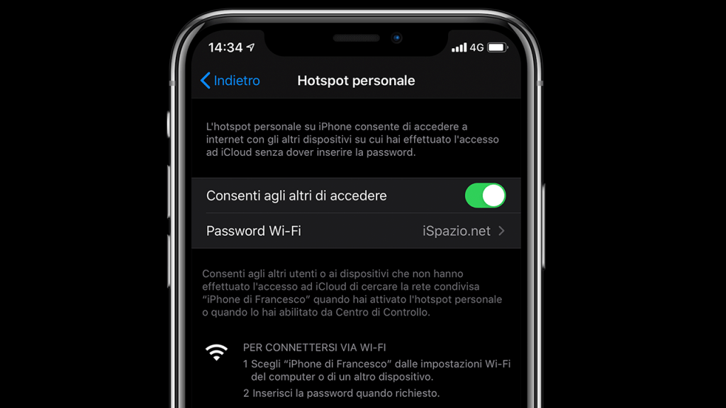 personal hotspot not working ios 13
