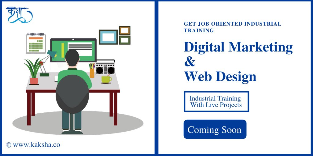 Get a Kaksha industrial training certificate which validates your digital marketing & web design skills and helps you get a job quickly. To Know More : http://www. kaksha.co     . . #Kaksha#webdesigning#digitalmarketing#graphicdesigner#mohali#Fresher#liveprojects#ITcompany<br>http://pic.twitter.com/MlbGwo5mJy