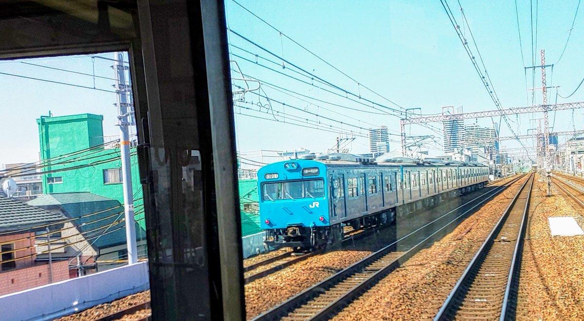 和田岬線 103系 車窓から https://t.co/LJBbxjHfB9