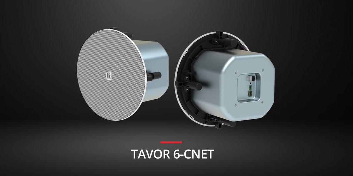 Coming Soon: With simple toolless, one-click installation, stylish bezel-less design & a lot of power the new Tavor 6-CNet in-ceiling POE Dante speaker is the solution you've been waiting for. Take a look for yourself #avtweeps #proav #avinstall #KramerAV https://www.youtube.com/watch?v=q18hHZ80jDs…pic.twitter.com/rwLsf00cqk