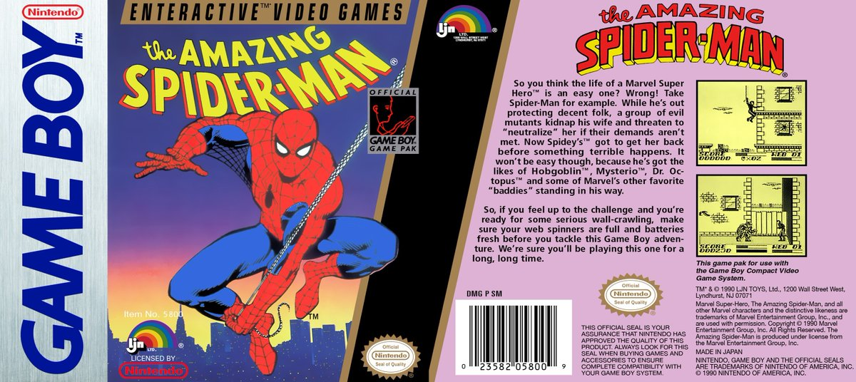 Uzivatel Retro Game Ghouls Na Twitteru The Amazing Spider Man In 1990 Gamers Searched A City For The Location Of Mary Jane An Action Adventure Game From Rareltd This Tasked You