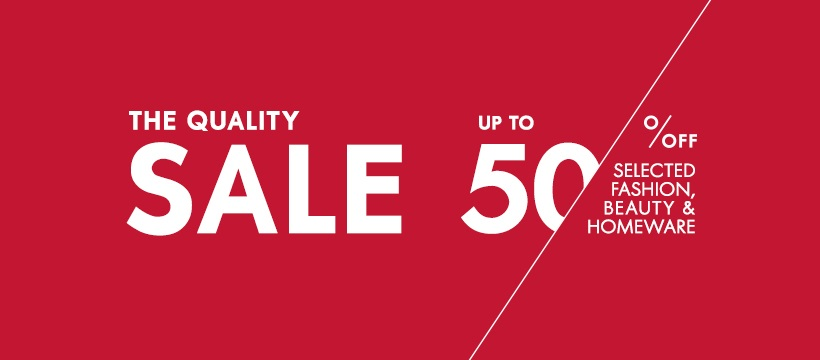 🛍️Are you Wready for the Woolworths Quality Sale??   All the way to 29th March enjoy up to 50% off on selected items and an extra 10% for Wreward members, aren't you lucky😉  Wready⏱️Set 🛍️SHOP!  #QualitySale#Fashion#Beauty#Homeware