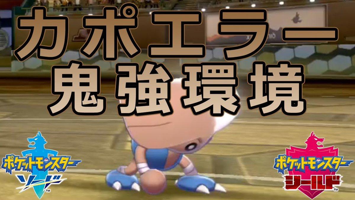 剣 カポエラー ポケモン 盾