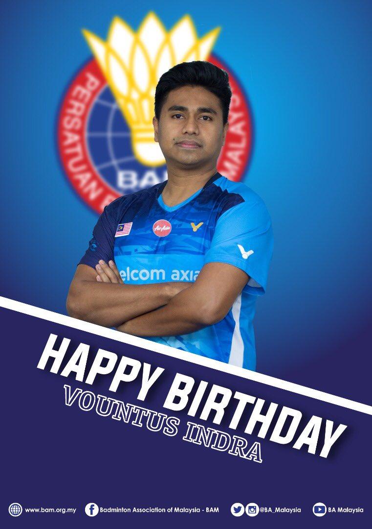 Many happy returns, coach Vountus!   #HBD  #BadmintonMalaysia #BadmintonLovers pic.twitter.com/aTNQq2m3ZX