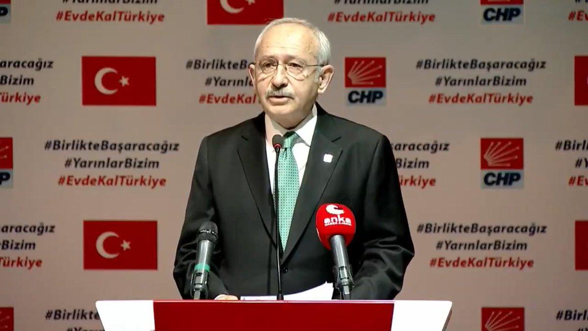 Koronavirüs (COVID-19) Gündemli Basın Açıklaması #BirlikteBaşaracağız #YarınlarBizim #EvdeKalTürkiye