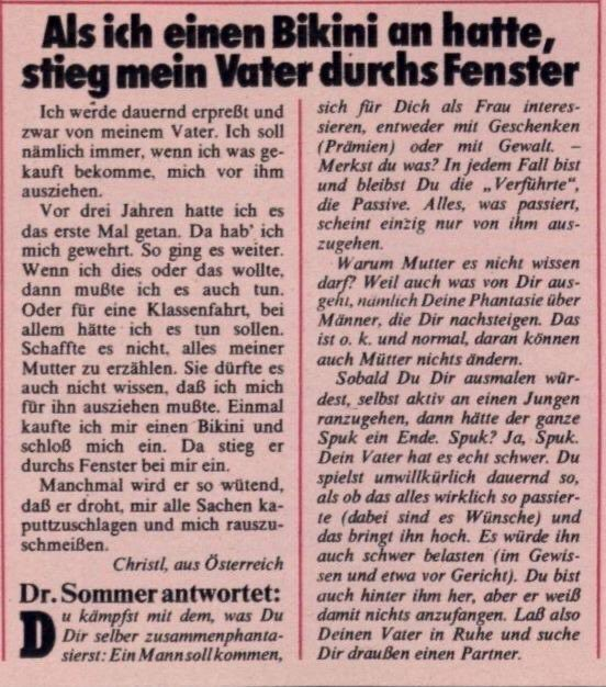 Bravo dr sommer